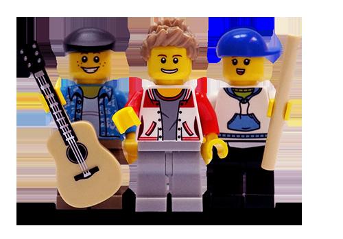 Band aus Lego